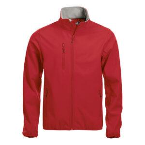 CLIQUE Basic Softshell Jacke 020910 (rot 35)