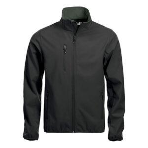CLIQUE Basic Softshell Jacke 020910 (schwarz 99)