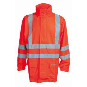 ELKA Dry Zone Visible Regenjacke 026301R (orange 030)