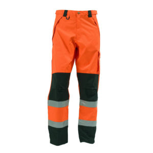 ELKA Visible Xtreme Regenhose 082400R (orange-schwarz 033)