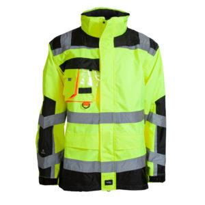ELKA Visible Xtreme Regenjacke 086004R (gelb-schwarz 042)