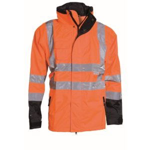 ELKA Visible Xtreme 2-in-1 Winterjacke 086100R (orange-schwarz 033)