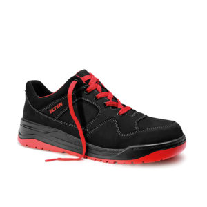 Elten Maverick black-red Low, ESD S3