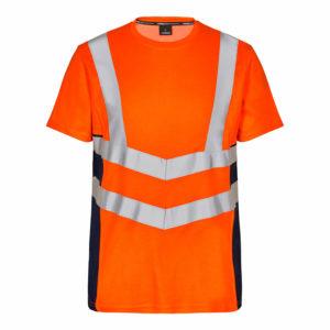 ENGEL Safety Kurzarm-Shirt 9544-182 (orange-blue ink 10165)
