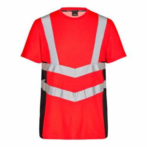ENGEL Safety Kurzarm-Shirt 9544-182 (rot-schwarz 4720)