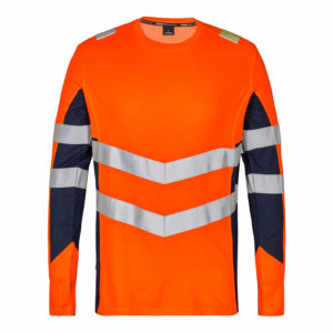 ENGEL Safety Langarm-Shirt 9545-182 (orange-blue ink 10165)