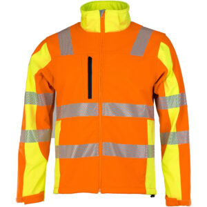 ASATEX Prevent® Trendline Softshelljacke PTW-DS-69-3XL (orange/gelb)