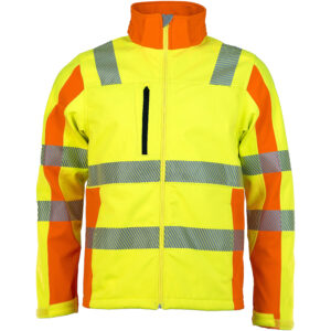 ASATEX Prevent® Trendline Softshelljacke PTW-DS-79-3XL (gelb/orange)