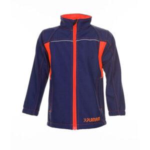 PLANAM Junior Softshell 6131 (marine-orange)